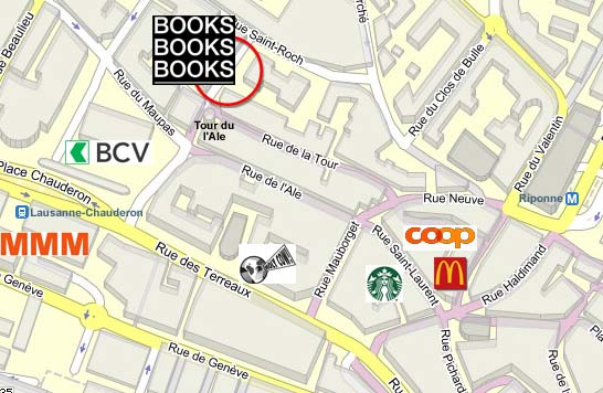 English Bookshop Map